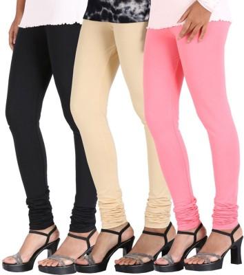 Legemat Women's Black, Beige, Pink Leggings