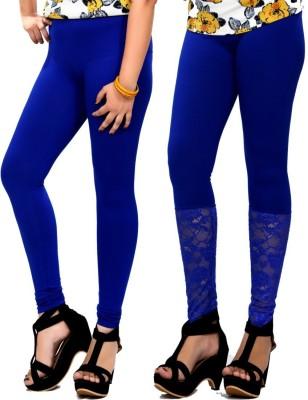 By The Way Women's Blue Leggings