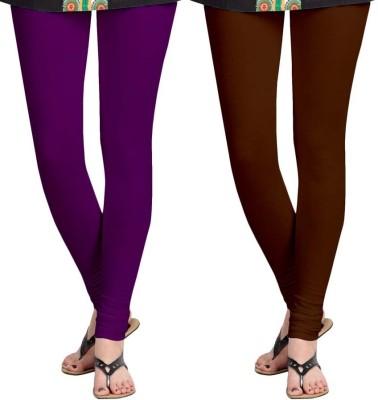 Roshni Creations Women,s Brown, Purple Leggings