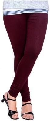 CitiQueen Women's Maroon Leggings