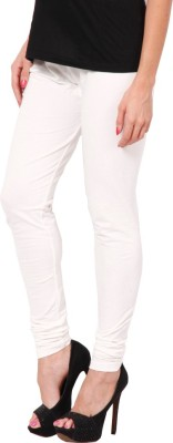 Adam n Eve Women's White Leggings
