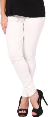 Zweena Women's White Leggings
