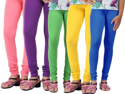 Greenwich Girl,s Pink, Purple, Green, Yellow, Blue Leggings