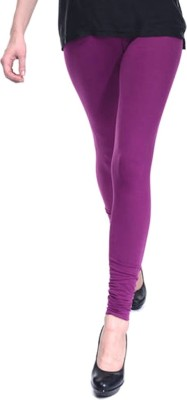 MeritFashion Women's Purple Leggings
