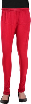 Heart&Arrow Women's Maroon Leggings