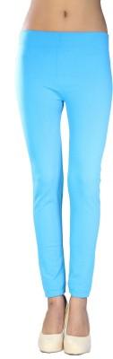 Nisha's Feminine Women's Blue Leggings