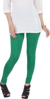 SANA FAB Women's Dark Green Leggings