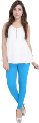 Shop Rajasthan Women,s Light Blue Leggings