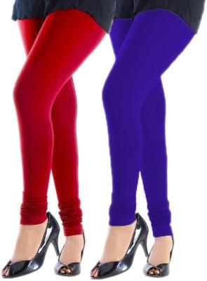 Trusha Dresses Women's Red, Purple Leggings
