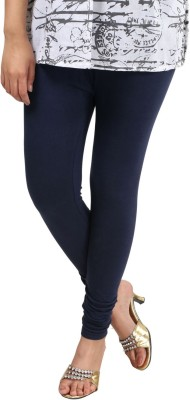 Sohniye Women's Dark Blue Leggings