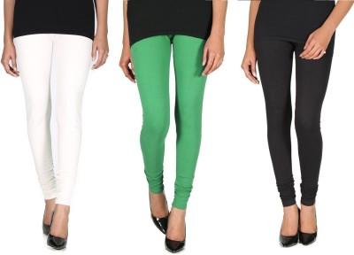 Ally Of Focker Women's Black, Green, White Leggings