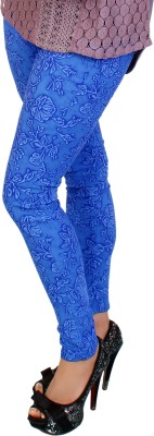 fashion and me Women's Blue Jeggings