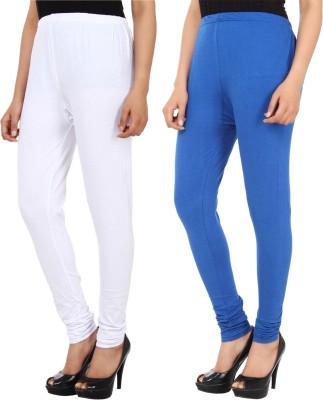 Xposé Women's White, Blue Leggings