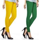 Jainam Women's Multicolor Leggings (Pack...