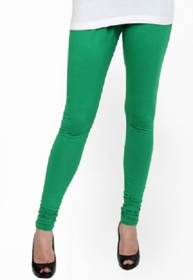 Lasunj Women's Green Leggings
