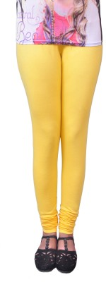 Anubhaviya Women's Yellow Leggings