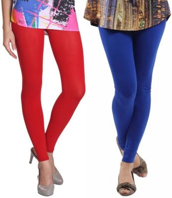 VP Vill Parko Women's Blue, Red Leggings