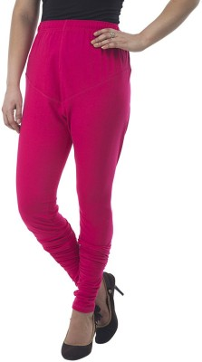 Marveto Women's Red Leggings