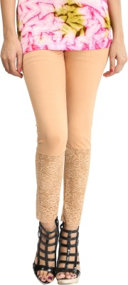 Lqqke Women's Beige Leggings