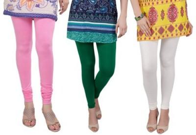 Prekrasna Women,s Pink, Beige, Green Leggings