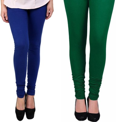 Vastra Buzz Women's Green, Dark Blue Leggings