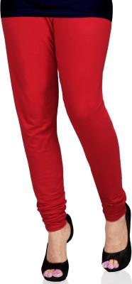 SareesHut Women's Red Leggings