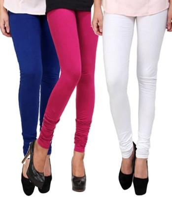 CP Bigbasket Women's Blue, Pink, White Leggings