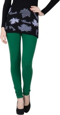 VERMELLO Women's Dark Green Leggings