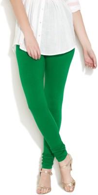 Vita Elegante Women's Dark Green Leggings