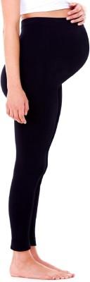Out Of Box Women's Maternity Wear Black Leggings