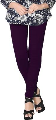 JV Wears Women's Purple Leggings