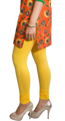 Red Saffron Women's Yellow Leggings