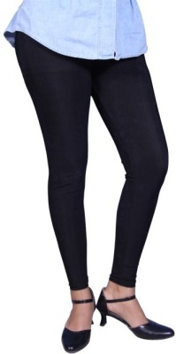Unicraft Women's Black Leggings
