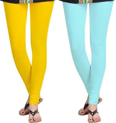Roshni Creations Women,s Blue, Yellow Leggings