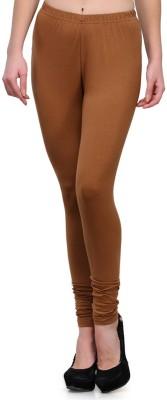 JUST CLIKK Women's Brown Leggings