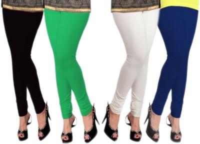 Abito Juniors Women's Black, White, Green, Blue Leggings