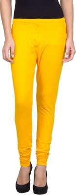 SareeGalaxy Women's Yellow Leggings