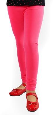 DEVYA FASHION Girl's Pink Leggings