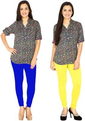 Traje Women's Blue, Yellow Leggings