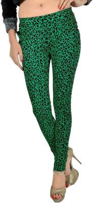 Madaam Women's Green Leggings