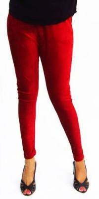 pinksisly Women's Red Leggings