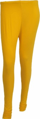 No Exxcess Women's Yellow Leggings