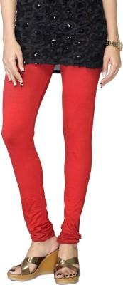 Cynthia Lifestyle Women's Red Leggings