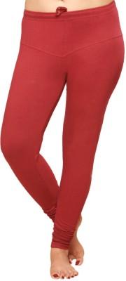Pomelo Women's Maroon Leggings