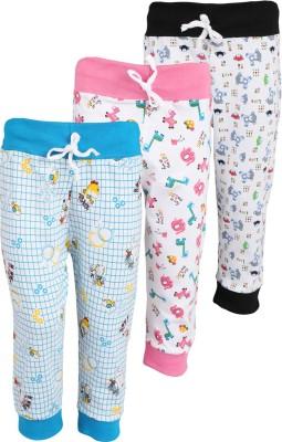 WEECARE Girl's Black, Pink, Blue Leggings