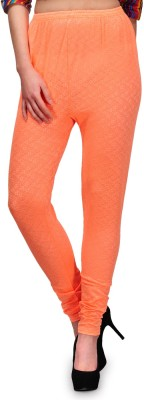 Fashion Cult Women's Orange Leggings