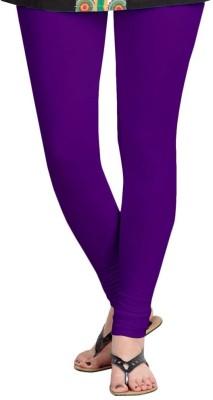 Roshni Creations Women's Purple Leggings