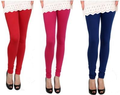 Raro Women's Red, Pink, Blue Leggings