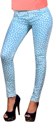 Vogue4all Women's Light Blue Jeggings
