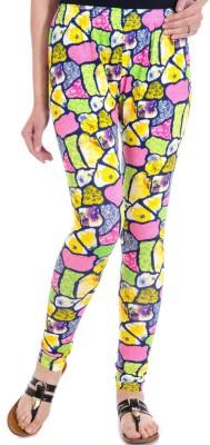 Fille Divin Women's Multicolor Leggings